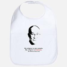 Dalai Lama Quote Bib