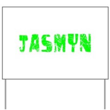 Jasmyn Faded (Green) Yard Sign