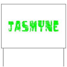 Jasmyne Faded (Green) Yard Sign