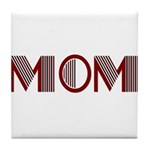 Art Deco Mom Tile Coaster