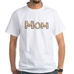 Band Aid Mom White T-Shirt
