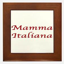 Mamma Italiana Framed Tile