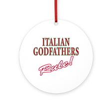 Italian Godfathers Ornament (Round)