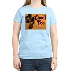 Camel Toe Women's Pink T-Shirt