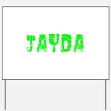 Jayda Faded (Green) Yard Sign