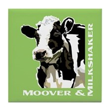 Moover Dairy Cow Tile Coaster