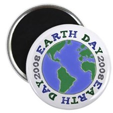 """EARTH DAY 2008 2.25"""" Magnet (100 pack)"""