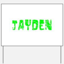 Jayden Faded (Green) Yard Sign