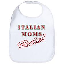 Italian Moms Rule Bib