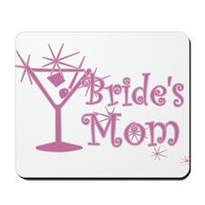 Pink C Martini Bride's Mom Mousepad