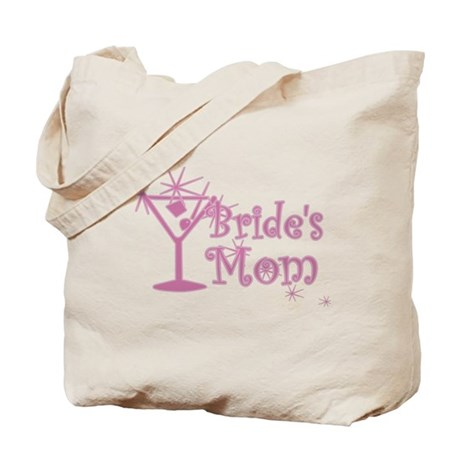 Pink C Martini Bride's Mom Tote Bag
