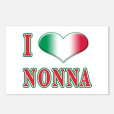 I Love Nonna Postcards (Package of 8)