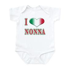 I Love Nonna Infant Bodysuit