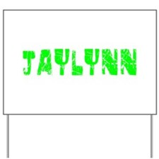 Jaylynn Faded (Green) Yard Sign
