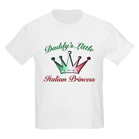 daddy's little Italian Prince Kids Light T-Shirt