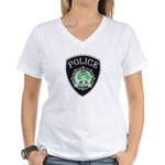 Newport News Police Women's V-Neck T-Shirt