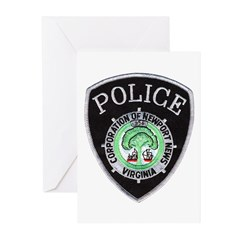 Newport News Police Greeting Cards (Pk of 20)