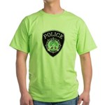 Newport News Police Green T-Shirt