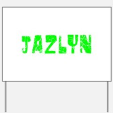 Jazlyn Faded (Green) Yard Sign