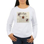 Bill of Rights Women's Long Sleeve T-Shirt