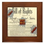 Bill of Rights Framed Tile