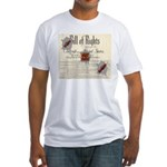 Bill of Rights Fitted T-Shirt