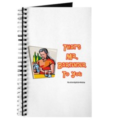 That's Mr. Bartender To You Journal