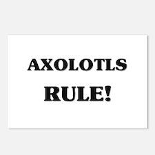 Axolotls Rule Postcards (Package of 8)