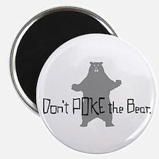 """Don't Poke The Bear 2.25"""" Magnet (100 pack)"""
