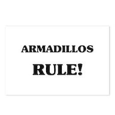 Armadillos Rule Postcards (Package of 8)