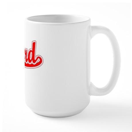 Retro Stanford (Red) Large Mug