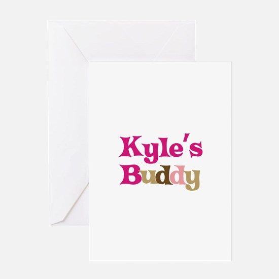 Kyle's Buddy Greeting Card