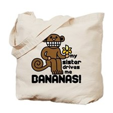 Drives Me Bananas Tote Bag