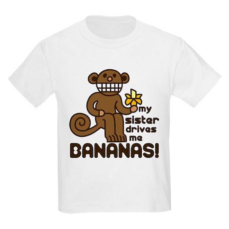 Drives Me Bananas Kids Light T-Shirt