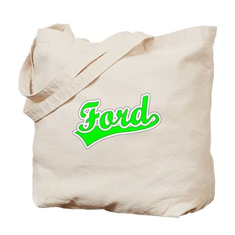 Retro Ford (Green) Tote Bag