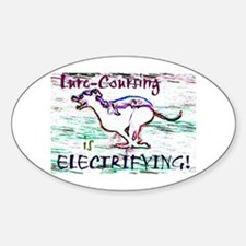 Lure Coursing Oval Decal