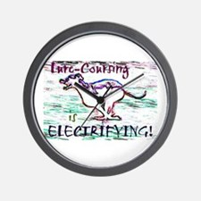 Lure Coursing Wall Clock