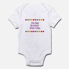 My Big Brother does Yoga Infant Bodysuit