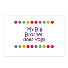 My Big Brother does Yoga Postcards (Package of 8)