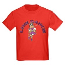 Line Dance Cowgirl T