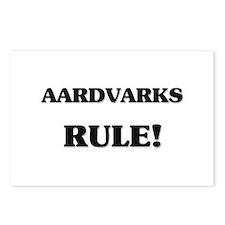 Aardvarks Rule Postcards (Package of 8)