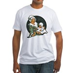 1910's Mother and Baby Fitted T-Shirt