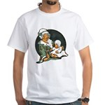 1910's Mother and Baby White T-Shirt
