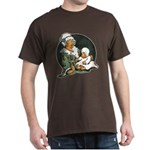 1910's Mother and Baby Dark T-Shirt
