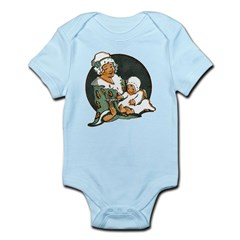 1910's Mother and Baby Infant Bodysuit