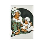 1910's Mother and Baby Rectangle Magnet (100 pack)
