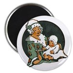 1910's Mother and Baby Magnet