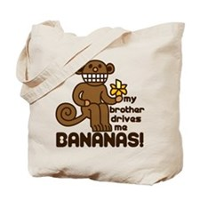 Drives Me Bananas Tote Bag