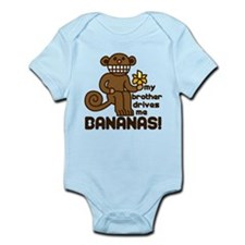 Drives Me Bananas Infant Bodysuit