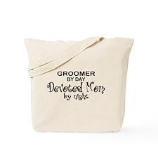 Groomer Devoted Mom Tote Bag